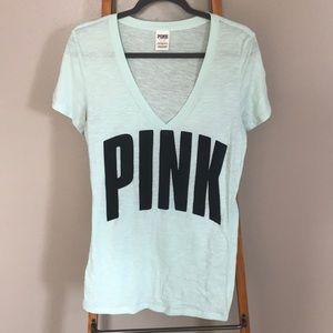 VS Pink Short Sleeve Shirt